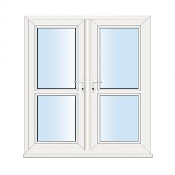 French Door: Mid Rail
