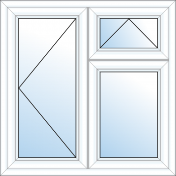 3 Pane Window